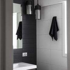 Bathroom Renovation Melbourne Greensborough Tiles Pendant Lighting