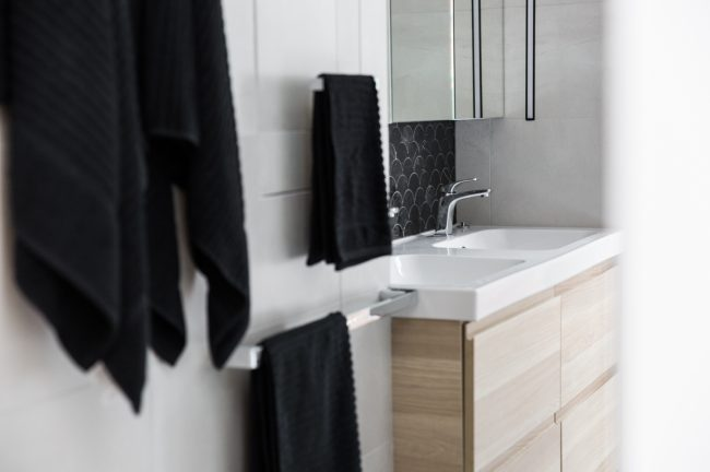 Bathroom North Fitzroy Timber Vanity Mj Harris Group
