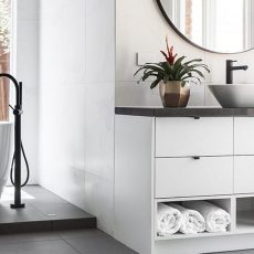 Image of our bathroom renovations and styling in Melbourne
