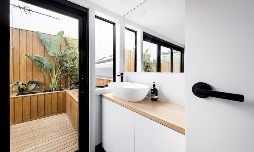 Ensuite and Courtyard Renovation in Melbourne