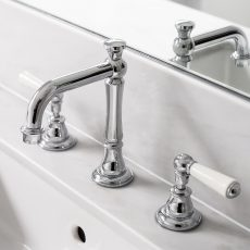 Traditional Tap Ware in Melbourne Bathroom
