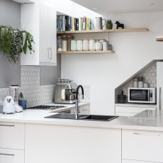 Innovative kitchen renovation in Cremorne