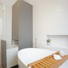 melbourne bathroom renovation, melbourne bathroom, bathroom renovation, mj harris group, m.j. harris group, custom joinery melbourne