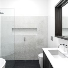 Melbourne Bathroom Renovation in Alphington Completed by M.J. Harris Group