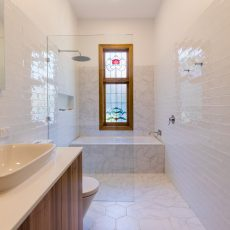 Ivanhoe bathroom renovation by MJ Harris Group