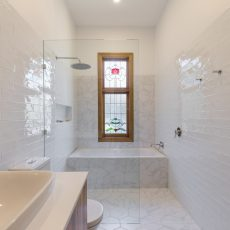 Ivanhoe bathroom renovation by MJ Harris
