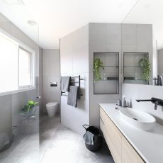 Image of a home renovation and bathrooms by MJ Harris
