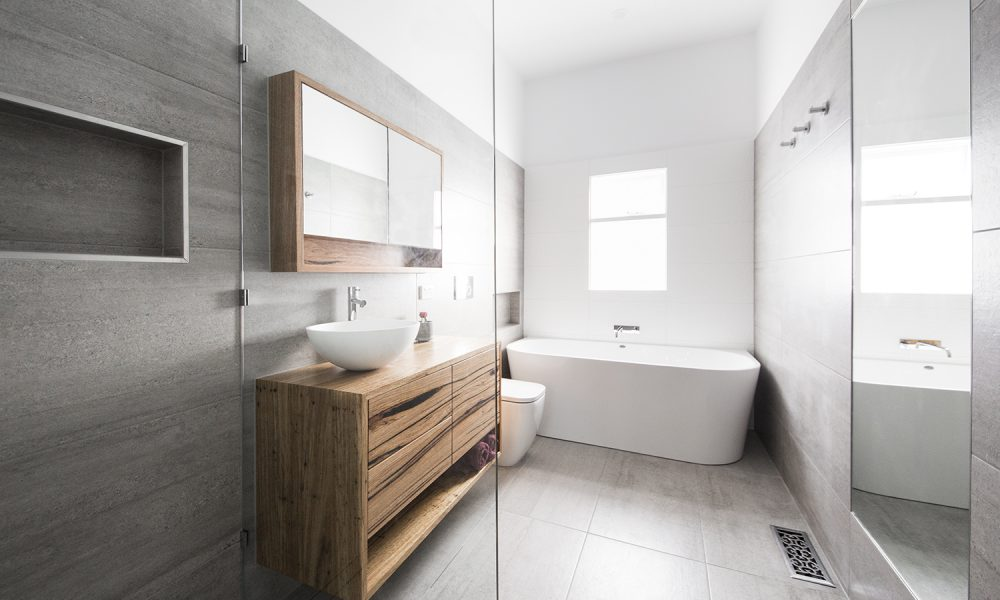 Image of a bathroom renovation in Thornbury, Melbourne