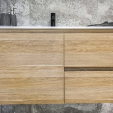 Timber Vanity with draws in Melbourne
