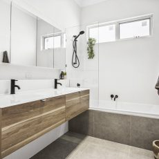 MJ Harris bathroom renovation in Thornbury, Melbourne