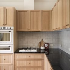 KD Hardwood timber Kitchen satin finish