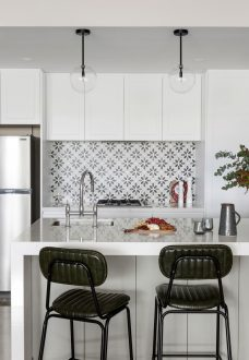 Kitchen designed and renovated by MJ Harris Group in Parkville, Melbourne