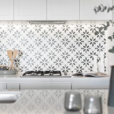 Feature Kitchen splash back in Parkville, Melbourne