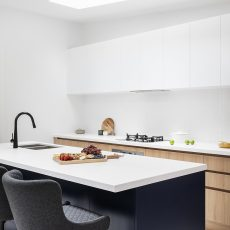 Skylight in Kitchen by MJ Harris Group in Brunswick